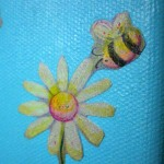 Daisies & Bees, Decoupage, 2011
