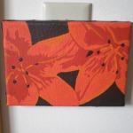 Orange Lilies, Acrylic on Canvas, 2008.