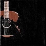 Guitar, Acrylic on Canvas, 2011