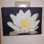 Water Lily, Acrylic on Canvas, 2008