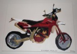 Husky Motorcycle, Acrylic on Canvas, 2007