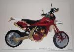 Husky Motorcycle, Acrylic on Canvas, 2007