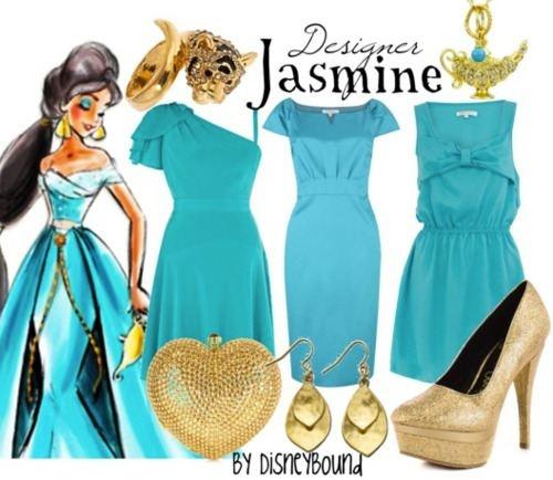 disney princesses inspire clothes