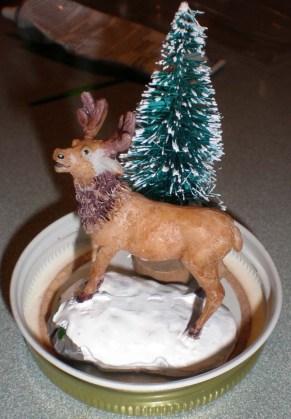 Moose Snowglobe