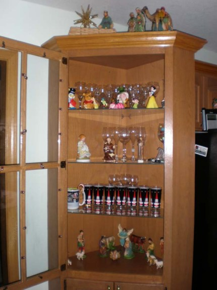 China Cabinet Nativity