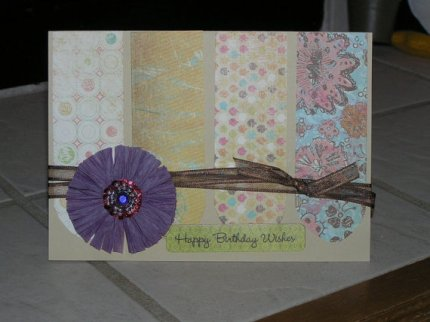 "Birthday Card, 5x7"" for sale on Etsy $4"