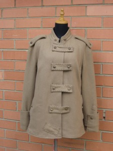 Trench Refashion by MakeBakeSisters