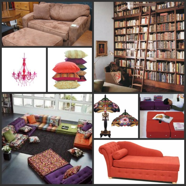 """My awesome """"reading room"""""""