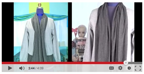 cardigan tshirt t-shirt video diy tutorial mark montano