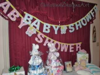 baby shower diaper cakes