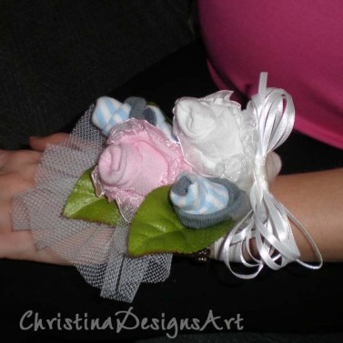 sock corsage