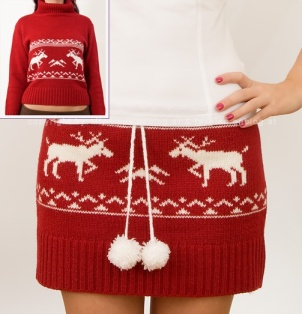 I've already chosen the sweater, even have it measured!Sweater Skirt by Fashion Blog