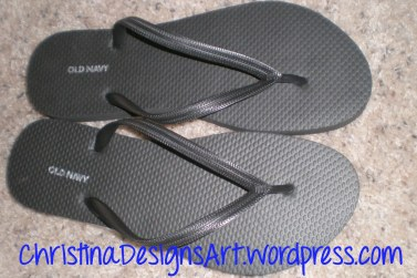 DIY Tutorial Dress Up Flip Flops