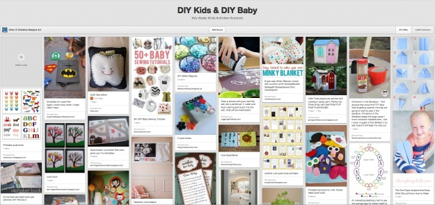DIY Kids & DIY Baby Pinterest Boards ChristinaDesignsArt.wordpress.com