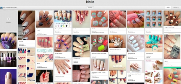 Nails Pinterest Boards ChristinaDesignsArt.wordpress.com