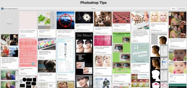 PhotoshopTips Pinterest Board ChristinaDesignsArt.wordpress.com