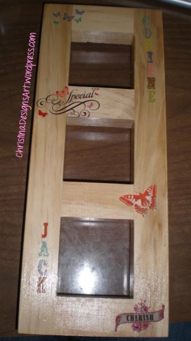 embellish the frame