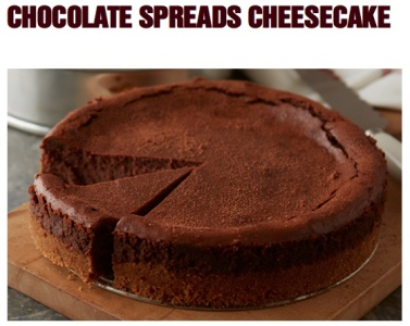 Hershey's Spreads Chcolate Cheesecake Recipe
