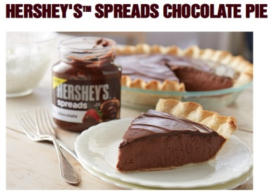 Hershey's Spreads Chocolate Pie