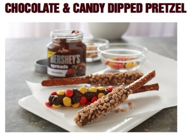 Chocolate & Candy Dipped Pretzels